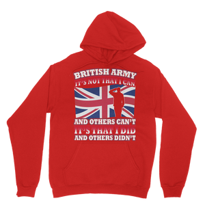 British Army - It's That I Did Classic Adult Hoodie