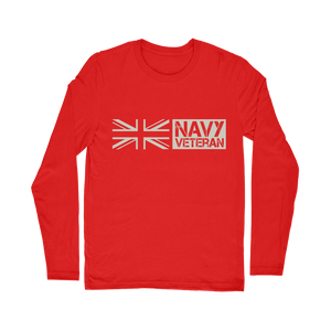 Navy Veteran Classic Long Sleeve T-Shirt