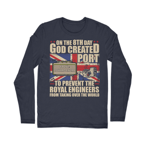 Royal Engineers Love Port Classic Long Sleeve T-Shirt
