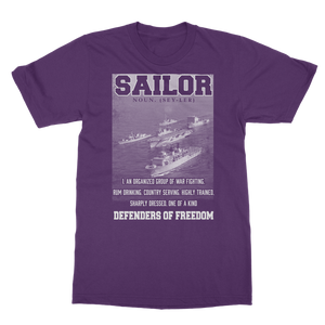 Sailors - Defenders Of Freedom Classic Adult T-Shirt