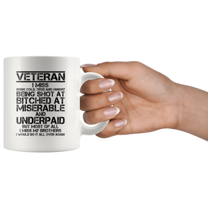 Veteran - I Would Do It All Over Again Mug