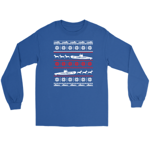 Submariner Christmas Long Sleeve Tee