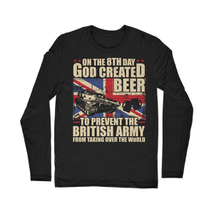 British Army Loves Beer Classic Long Sleeve T-Shirt