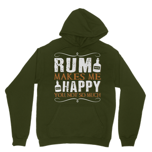 Rum Makes Me Happy, You Not So Much Classic Adult Hoodie