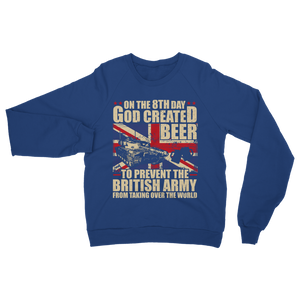 British Army Loves Beer Classic Adult Sweatshirt
