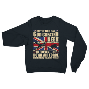 Royal Air Force Loves Beer Classic Adult Sweatshirt