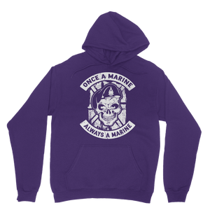 Once a Marine, always a Marine! Classic Adult Hoodie
