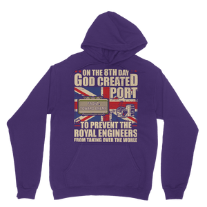 Royal Engineers Love Port Classic Adult Hoodie