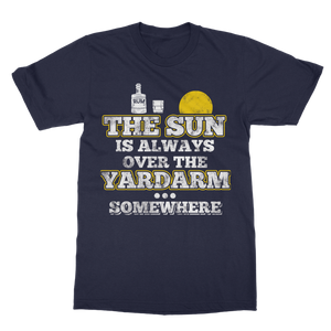 The Sun Is Always Over The Yardarm Somewhere Classic Adult T-Shirt