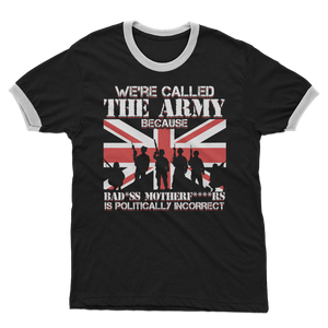 Army BAMFS Adult Ringer T-Shirt