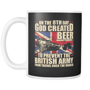 The British Army Loves Beer Mug