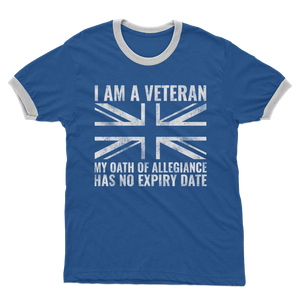 My Oath Of Allegiance Has No Expiry Date Adult Ringer T-Shirt