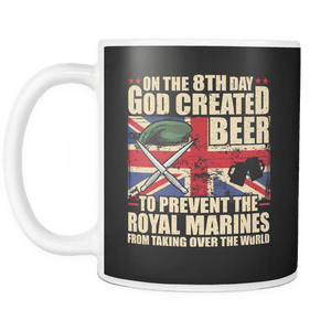 Royal Marines Love Beer Mug