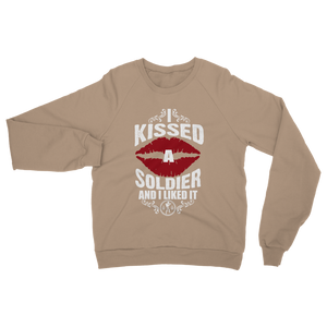 I Kissed A Soldier And I Liked It Classic Adult Sweatshirt