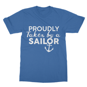 Proudly Taken By A Sailor Classic Adult T-Shirt