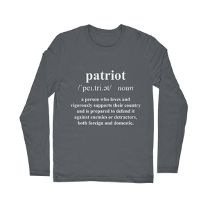 Patriot Dictionary Classic Long Sleeve T-Shirt