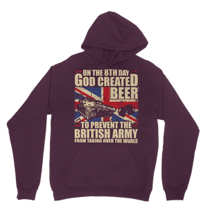 British Army Loves Beer Classic Adult Hoodie