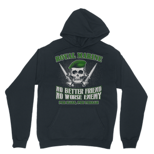 Royal Marine - No Better Friend, No Worse Enemy Classic Adult Hoodie