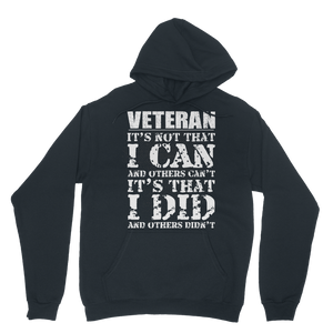 Veteran - It's That I Did Classic Adult Hoodie