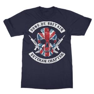 Sons Of Britain - Veteran Chapter Classic Adult T-Shirt