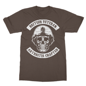 British Veteran - Arthritis Chapter Classic Adult T-Shirt