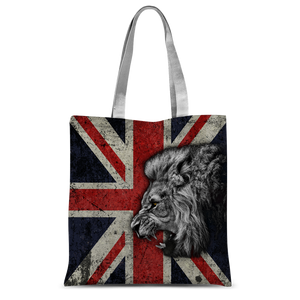 British Lion All Over Printed Classic Sublimation Tote Bag