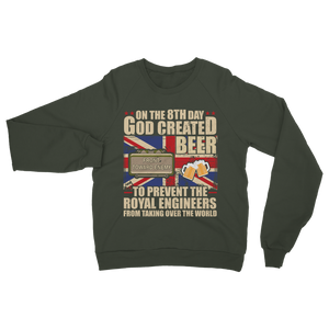Royal Engineers Love Beer Classic Adult Sweatshirt