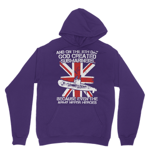 Submariners Are Heroes Classic Adult Hoodie