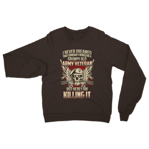 Grumpy Old Army Veteran Classic Adult Sweatshirt