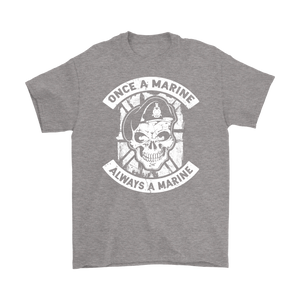 """Once a Marine, always a Marine!"" Mens T-Shirt"