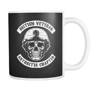 British Veteran - Arthritis Chapter Mug