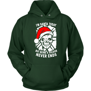 I'm Santa Today But.. Christmas Unisex Hoodie