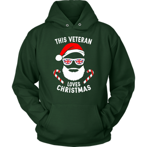 This Veteran Loves Christmas - Unisex Hoodie
