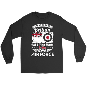 I Was Born In Britain But I Was Made In The RAF
