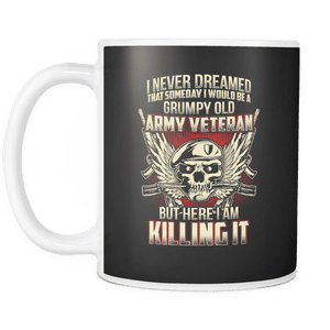Grumpy Old Army Veteran Mug