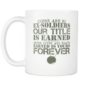 There Are No Ex-soldiers Mug
