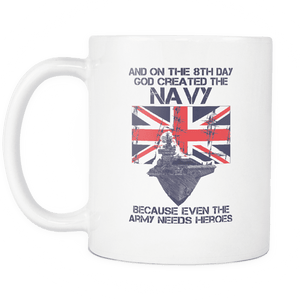 The Navy Are Heroes Mug