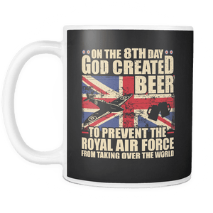 The RAF Loves Beer Mug