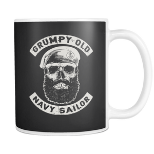 Grumpy Old Navy Sailor Mug