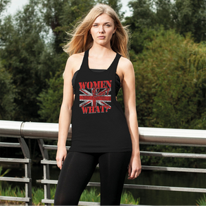 Women Can't What? Women's Loose Racerback Tank Top