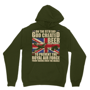 Royal Air Force Loves Beer Classic Adult Hoodie