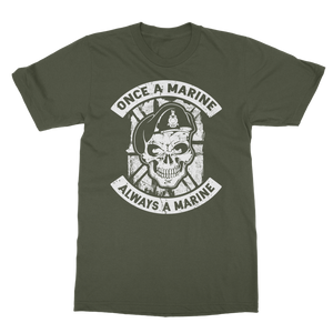 Once a Marine, always a Marine! Classic Adult T-Shirt