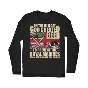 Royal Marines Love Beer Classic Long Sleeve T-Shirt