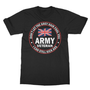 Army Veteran - I Can Still Kick A** Classic Adult T-Shirt