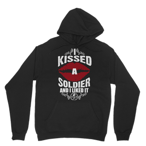 I Kissed A Soldier And I Liked It Classic Adult Hoodie