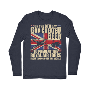 Royal Air Force Loves Beer Classic Long Sleeve T-Shirt