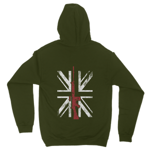 Thin Red Line - SLR (Back Print) Classic Adult Hoodie