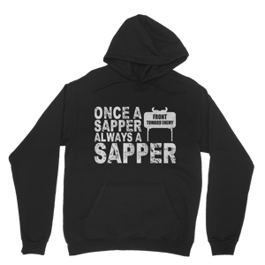 Once A Sapper Always A Sapper Classic Adult Hoodie