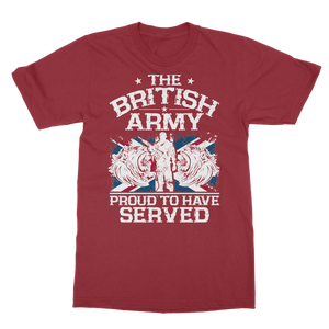 British Army - Proud To Have Served Classic Adult T-Shirt