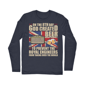 Royal Engineers Love Beer Classic Long Sleeve T-Shirt